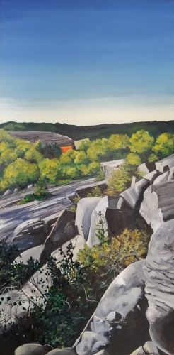 paint-deer-isle-settlement-quarry